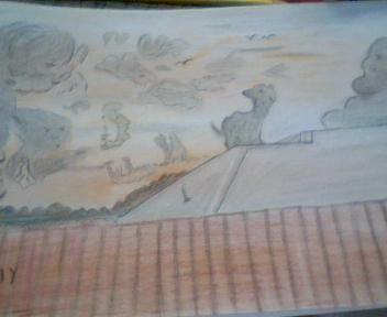 رسمي في بيت بلقيس